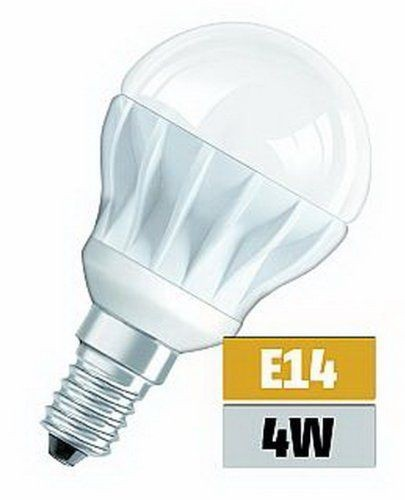 5x LED Osram Superstar Classic Birne P25 E14 4W 3000K warmweiss